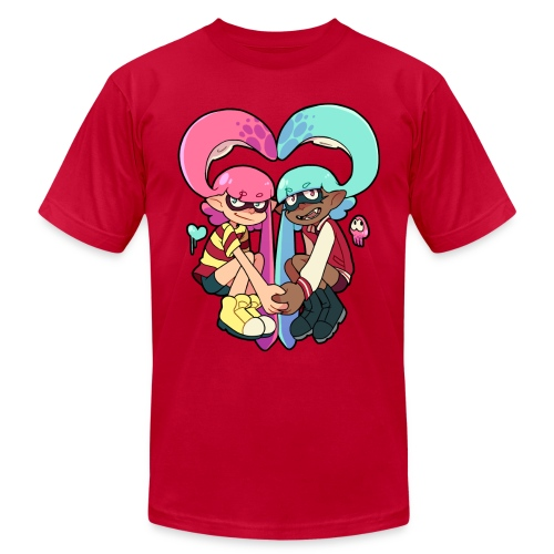squid heart - Men's Fine Jersey T-Shirt