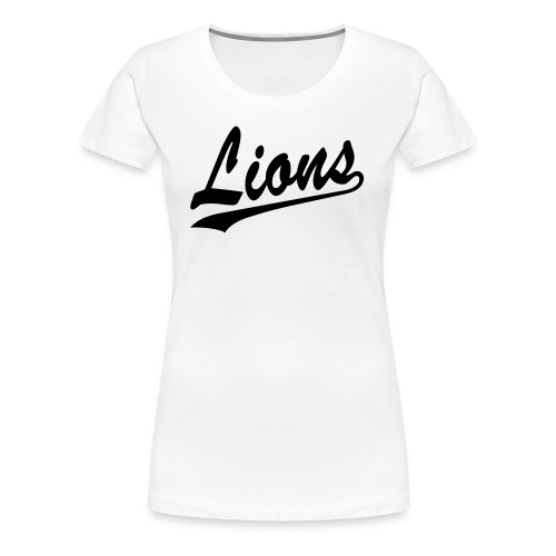 Lions T-Shirt (Women) - Women's Premium T-Shirt