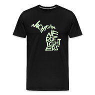 T-Shirts ~ Men's Premium T-Shirt ~ Glow-in-the-dark Mich. Nerdfighters