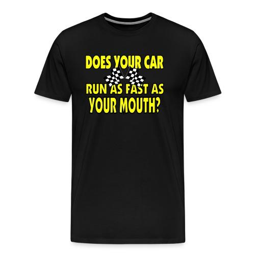 Fast Mouth Shirt - Men's Premium T-Shirt