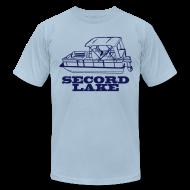 T-Shirts ~ Men's T-Shirt by American Apparel ~ Secord Lake