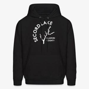 Secord Lake Outline - Men's Hoodie