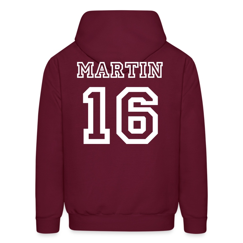Martin  15 Front and Back - Men's Hoodie