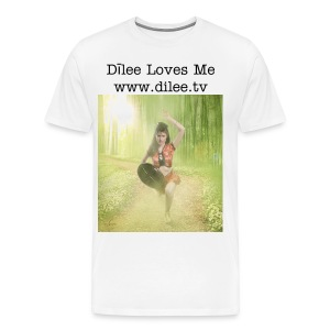 Dīlee bamboo short sleeve - Men's Premium T-Shirt