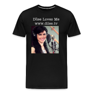 T-Shirts ~ Men's Premium T-Shirt ~ Dīlee loves me - studio men's t-shirt