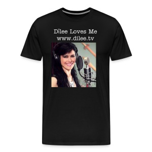 Dīlee loves me - studio men's t-shirt - Men's Premium T-Shirt