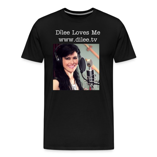 Dīlee loves me - studio men's t-shirt