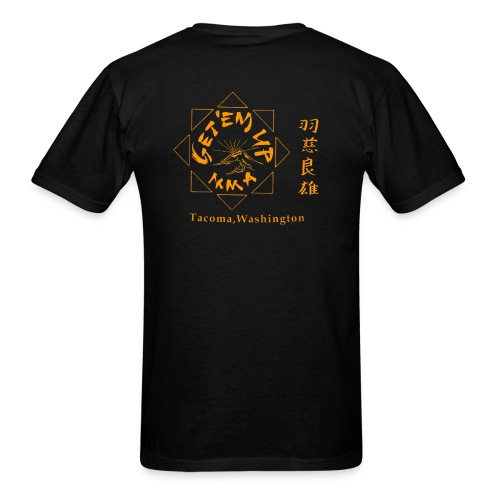 gettem up mma shirts - Men's T-Shirt