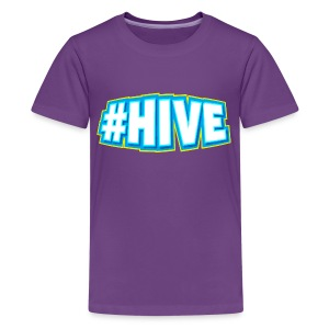 Kid's #Hive Tee - Kids' Premium T-Shirt
