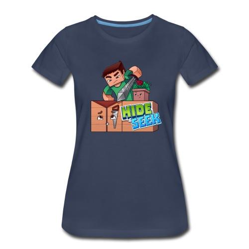Women's Hide and Seek Tee - Women's Premium T-Shirt
