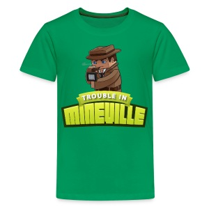 Kid's Trouble in Mineville Tee - Kids' Premium T-Shirt