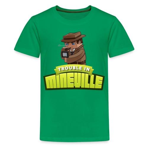 Kid's Trouble in Mineville Tee - Kids' Premium T-Shirt