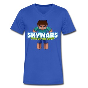 Men's SkyWars V-Neck - Men's V-Neck T-Shirt by Canvas