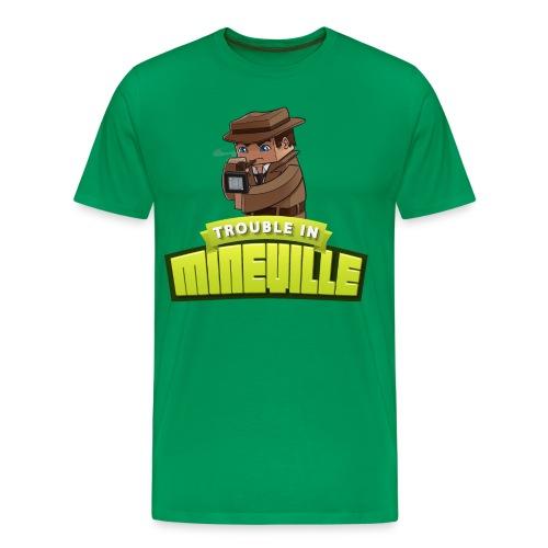 Men's Trouble in Mineville Tee - Men's Premium T-Shirt