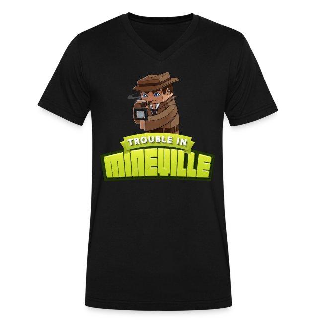 Men's Trouble in Mineville V-Neck