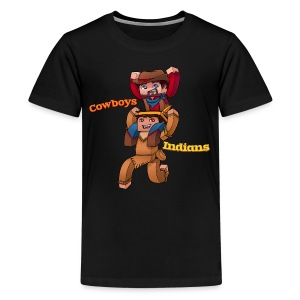 Kid's Cowboys and Indians Tee - Kids' Premium T-Shirt