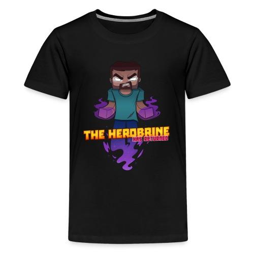 Kid's The Herobrine Tee - Kids' Premium T-Shirt