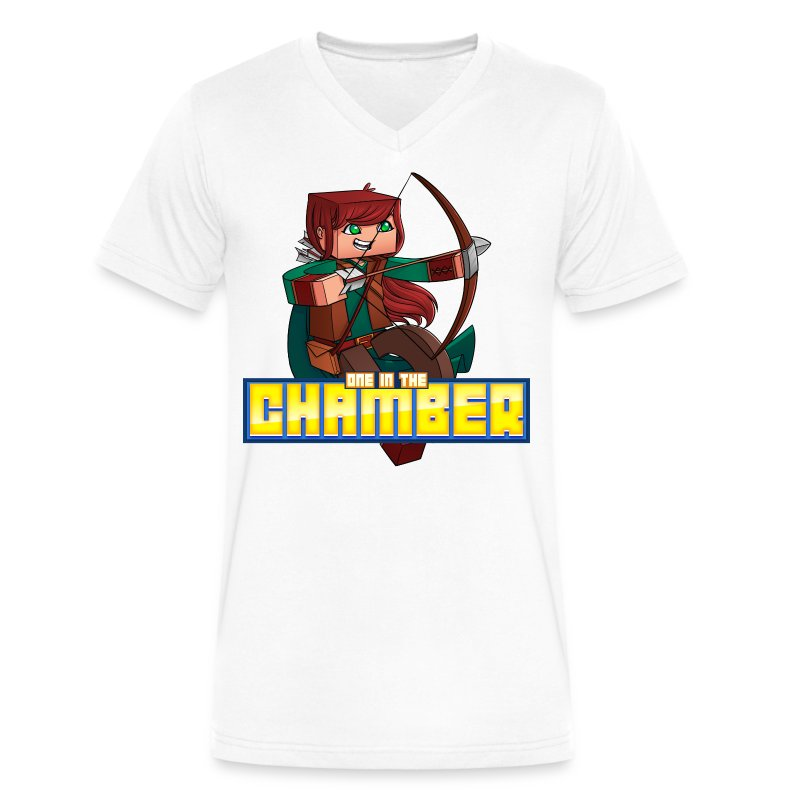Men's One in the Chamber V-Neck - Men's V-Neck T-Shirt by Canvas