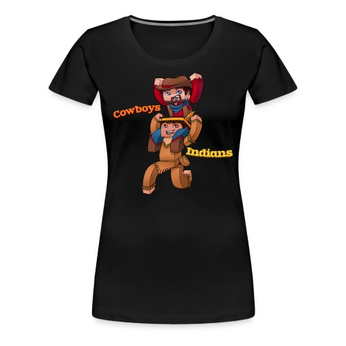 Women's Cowboys and Indians Tee - Women's Premium T-Shirt
