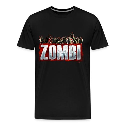 Zombi T-shirt - Men's Premium T-Shirt