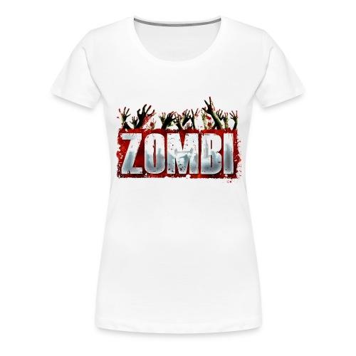 Zombi T-shirt - Women's Premium T-Shirt