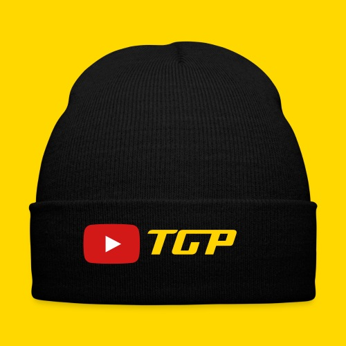 Youtube- TGP Hat - Knit Cap with Cuff Print