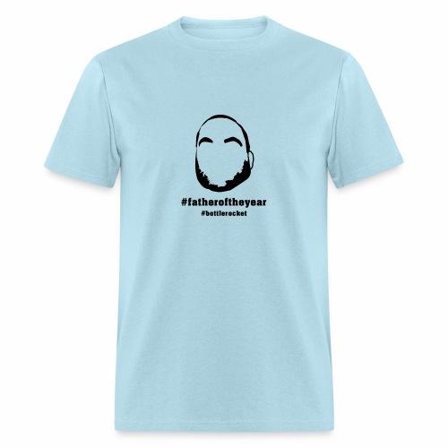 Light Blue #fatheroftheyear - Men's T-Shirt