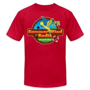 Summer Wind Radio T - Men's Fine Jersey T-Shirt