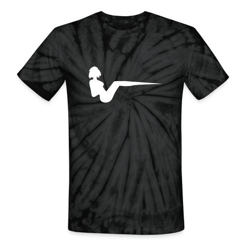 Tie Dye V - Unisex Tie Dye T-Shirt