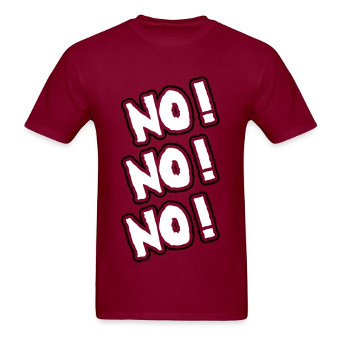 Daniel Bryan No! No! No! One-Sided Anti-Shirt - Men's T-Shirt