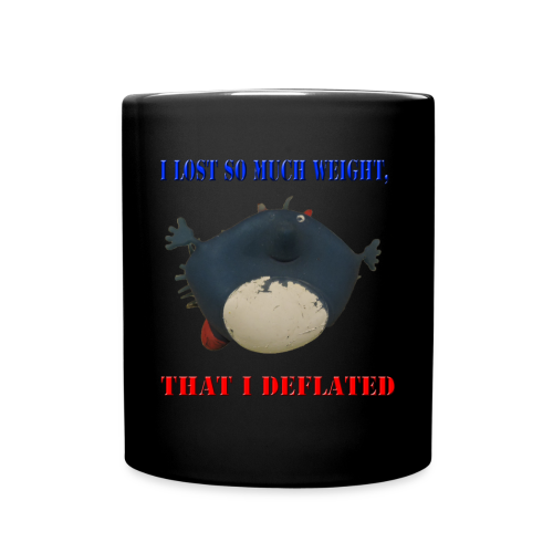 I lost so much weight i deflated Coffee Mug - Full Color Mug