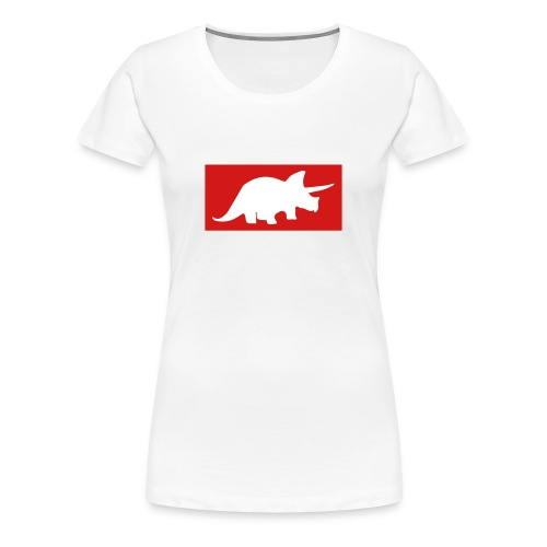 Original Triceratops Womes Shirt Big - Women's Premium T-Shirt