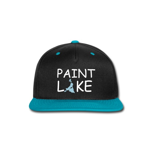 Paint Lake Snap-back Baseball Cap - Snap-back Baseball Cap