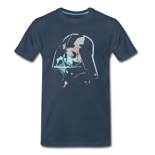 Skull Vader - Men's Premium T-Shirt