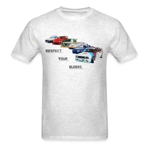 RESPECT YOUR ELDERS - Men's T-Shirt