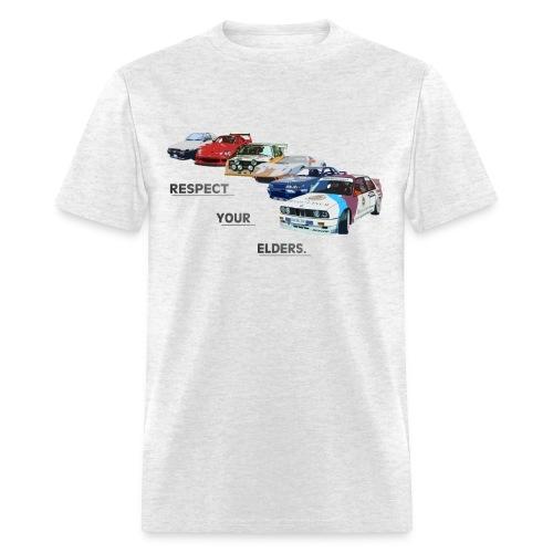 RESPECT YOUR ELDERS - Men's T-Shirt
