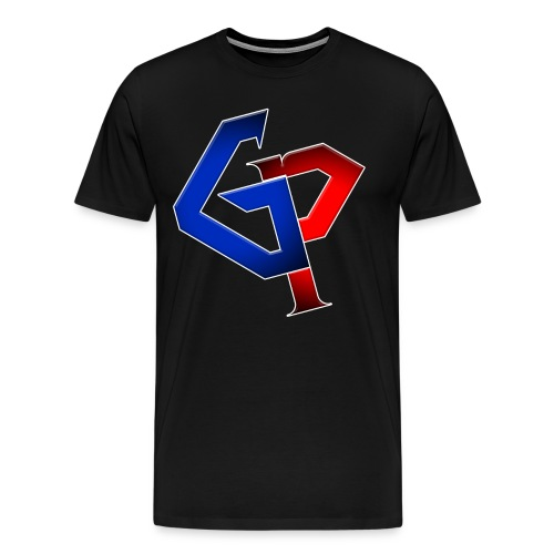 Red/Blue GP No name - Men's Premium T-Shirt