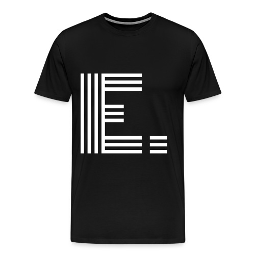 E. - Men's Premium T-Shirt