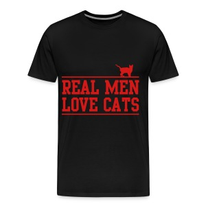 real men tee - Men's Premium T-Shirt