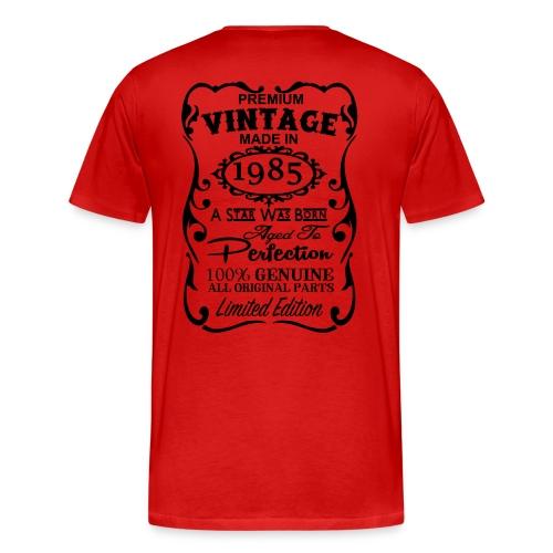 Men's Premium T-Shirt - vintage red t shirt