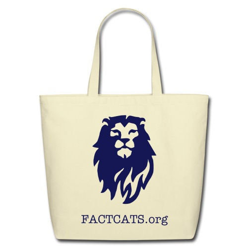 FACTCATS Eco Friendly Tote Bag - Eco-Friendly Cotton Tote