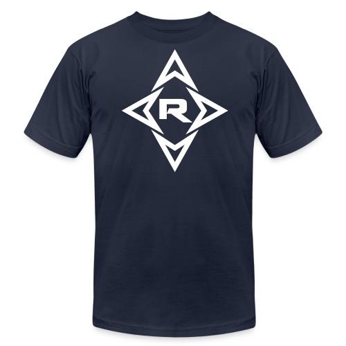 Men's REZO T-shirt White Logo - Men's Fine Jersey T-Shirt
