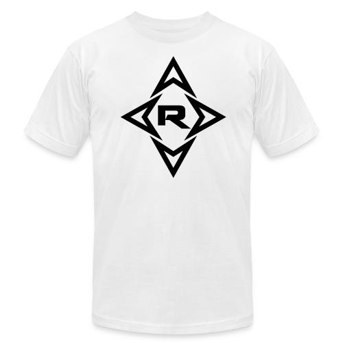Men's REZO T-shirt Black Logo - Men's Fine Jersey T-Shirt