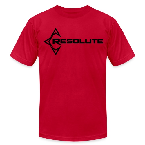 Men's REZO T-shirt Black Name - Men's Fine Jersey T-Shirt
