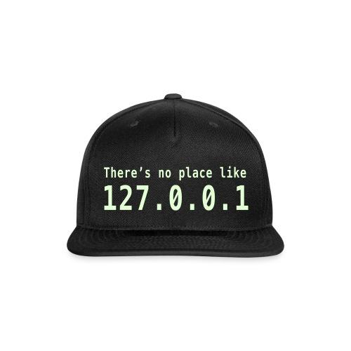 Blackhat Hat - Snap-back Baseball Cap