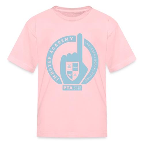 PTA Kids blue emblem - Kids' T-Shirt