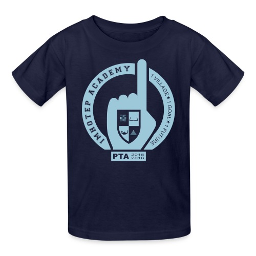 PTA Kids Shirt Navy - Kids' T-Shirt