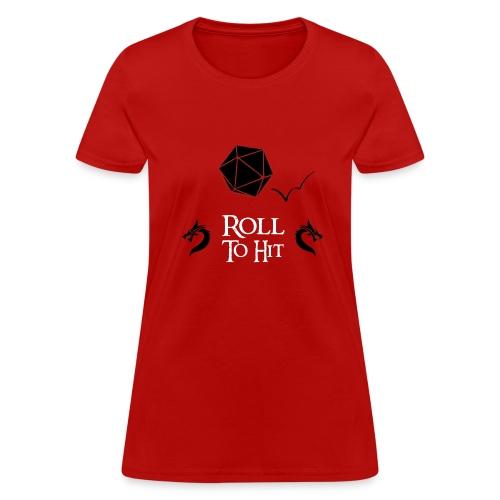 Women's Roll to Hit Tshirt - Women's T-Shirt