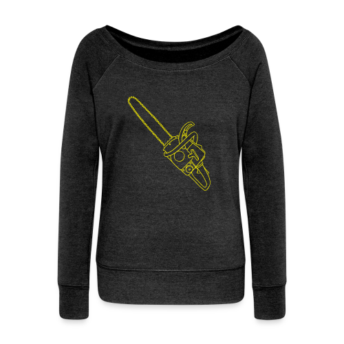 Chainsaw - Women's Wideneck Sweatshirt