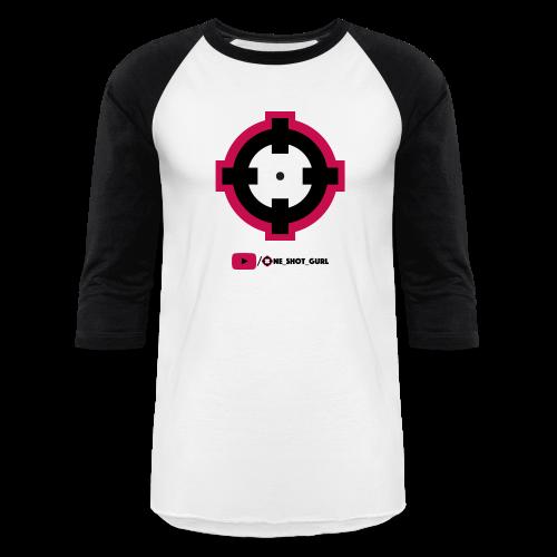 Crosshairs Baseball Tee - Baseball T-Shirt